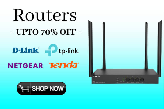 Buy Routers & Hard Disks at lowest price online - Upto 70% Off - 10% original - only at Digital Arcade